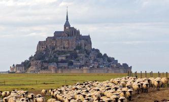 Chartres au Mont St michel