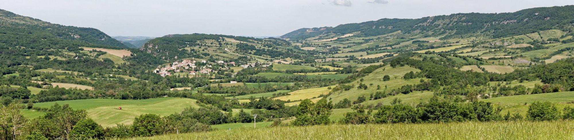 Vallée du Cernon - Lapanouse de Cernon