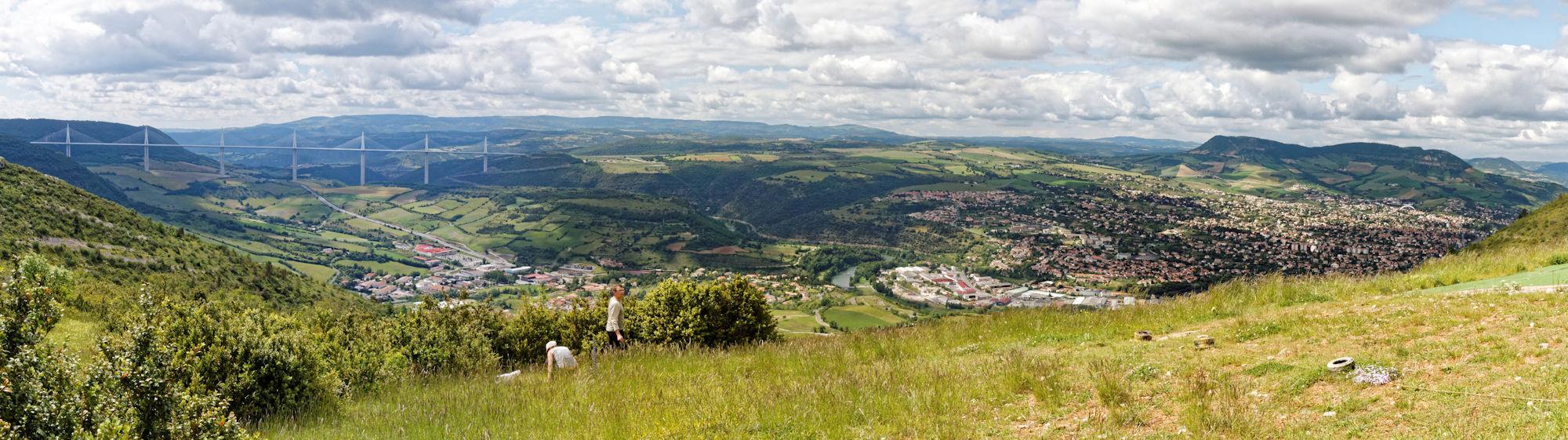 Larzac nord - Belvédère de Cap de Coste