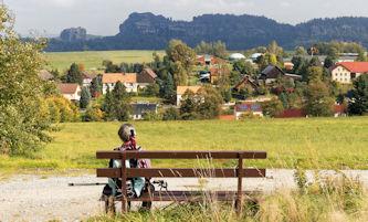 Saxe - Malerweg