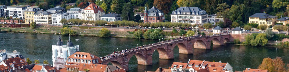 Rheinsteig – Heidelberg