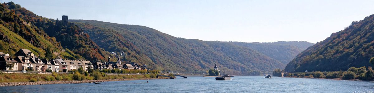 Rheinsteig – Croisière sur le Rhin
